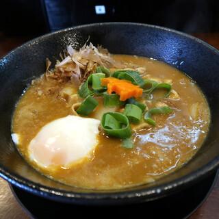 麺処 ほんだ - 料理写真:カレーらーめん(温玉付き)