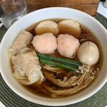 麺や金時 - 特製醤油ラーメン 1200円