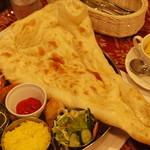 タージマハール - ディナーの野菜セット