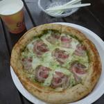 いでぼく チーズ&ピザショップ 大地 - ピザ&ホットミルク