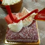 ドゥース・ド・フランスアトリエ - 買ってきたケーキ2012年10月