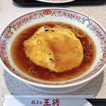 餃子の王将 - 料理写真:天津麺(税込605円)
