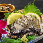 寿司と地魚料理 大徳家 - 房州黒あわび