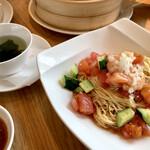 鼎泰豊 - 冷製トマト乾伴麺