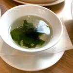 鼎泰豊 - わかめスープ付き