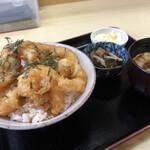 天ぷら てんちゃん - えびプリッ天丼