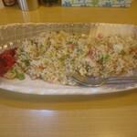 増屋食堂 - 料理写真:チャーハン大~しっとり甘々系