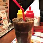 151522661 - 210517月 東京 ブラザーズ 新富町店 アイスコーヒーランチ150円
