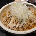 焔蔵 - 冷やし肉そば(中)