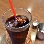 自家焙煎珈琲庵 - 【サンドイッチセット@税込890円】アイスコーヒー