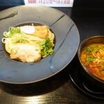 晴レル屋 - 辛味噌つけ麺(860円)