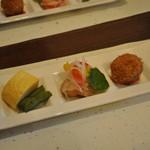旬菜 地野菜 みやま - 料理写真: