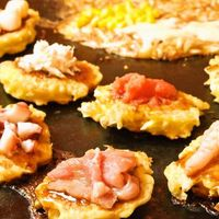 海鮮もんじゃ けい - 【日~火限定】2H飲放付プチもんプチ玉食べ放題コース