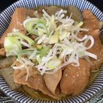 もつ煮 太郎 - モツ煮アップ