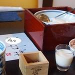 伊勢河崎 町家とうふ - 煎り豆、豆乳、朧豆冨