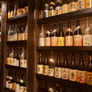 新宿東口/居酒屋 こだわりの焼酎を豊富にご用意しております。