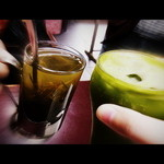 15156558 - オツカレ!宇治茶ソーダと昆布茶で。(笑