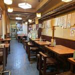 kabutochoumaruya - 店内