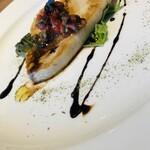 カフェ アンド レストラン オーガリ - コースのお魚