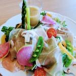 500kcal Truffle Farm - 生ハムの彩りサラダ