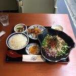 さいか亭 - 台湾まぜそば定食 ¥980