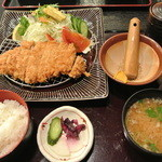 天道 - 萬幻豚とんかつ定食 ¥1650