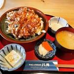 やんしゅうばんや 八角 - 料理写真:海鮮かき揚げ丼 ¥1,000-
