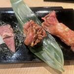 肉処 牛慎 - 肉寿司