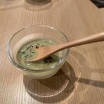 肉処 牛慎 - ブロッコリースープ