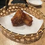 肉処 牛慎 - 沢庵肉巻き寿司