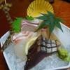 湯の宿 湯楽亭 - 料理写真:(夕食)刺身は美味しかった。