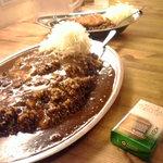 金沢super curry - カレー大盛り