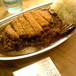 金沢super curry - カツカレー中盛り