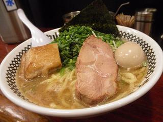 中山堂 - 太麺3点盛り