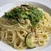 デル・ジョルノ イタリア - 料理写真:わさび菜とズッキーニのうす塩パスタ