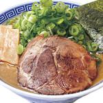 大志軒 - 葱盛り濃厚豚骨醤油麺