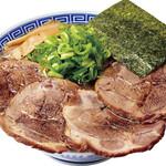 大志軒 - 肉盛り本丸醤油麺