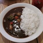 コクドウカレー - 料理写真:野菜カレー(あまから/650円)