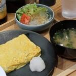 サケトサカナ - だし巻き玉子定食