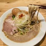 151592239 - ドロドロすぎて麺が持ち上がりませんヾ(・ω・`;)ノ重いっ!