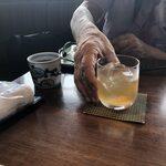 松江の台所 こ根っこや - オヤジと梅酒