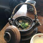 松江の台所 こ根っこや - シジミ酒蒸し