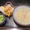 讃岐うどんと地鶏丼の店 香房 - 料理写真:かしわ天湯だめ5個、中盛