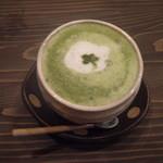 オープンカフェ はぴねす - 抹茶オレ
