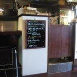 1516929 - 日替わりランチは黒板のメニューから選択