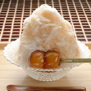 甘味や 澤田商店 - 料理写真:かき氷ひやしみたらし