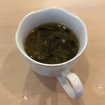 カフェと印度家庭料理 レカ - 料理写真:聞き取れなかった旨いスープ