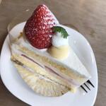 空気ケーキ。 -