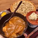 ひさご - 料理写真:ミニカレー丼+そばセット 850円