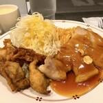 レストラン・マルマン - 唐揚げ&トンテキ